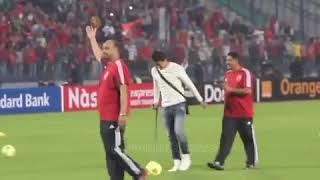 الغزال عمرو جمال والجمهوره يهتف له      -