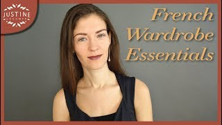 "10 wardrobe essentials for French style  | ""Parisian chic"" 