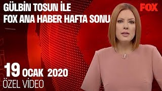 Kanal İstanbul'da heyelan riski! 19 Ocak 2020 Gülbin Tosun ile FOX Ana Haber Hafta Sonu