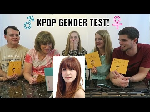 KPOP GENDER TEST!