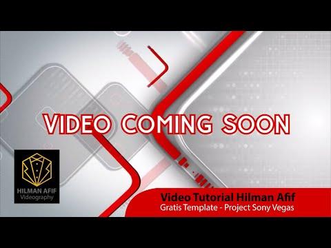 Membuat Video Coming Soon Event
