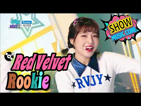 [HOT] RED VELVET - Rookie, 레드벨벳 - 루키 Show Music core 20170218