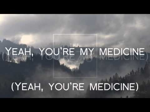 The 1975 - Medicine (lyrics video - REUPLOAD WITHOUT MISTAKES)