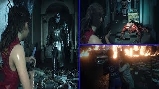Resident Evil 2 Remake Mythbusters - Escaping A Zombie Grab & More Mr X. Myths!