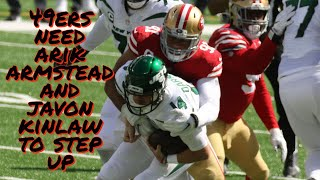 The 49ers Need Arik Armstead and Javon Kinlaw to Step Up