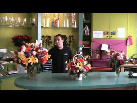 Ramos de flores de www.Quedeflores.com pra el día de la madre del 2011