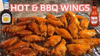 How to make hot wings & bbq wings quick n simple