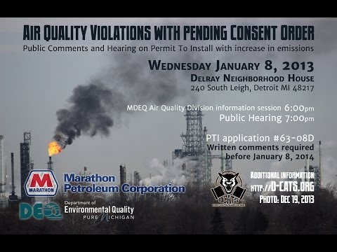 Thumbnail for Marathon Petroleum Permit & Consent Order