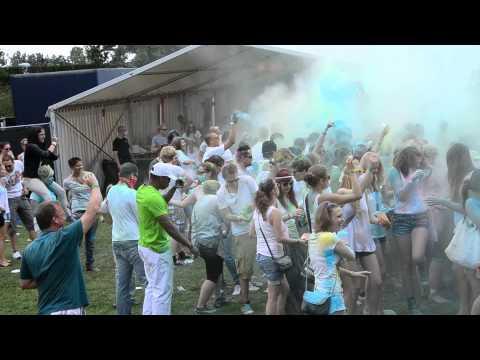 Holi Festival Bamberg - 2. Farbexplosion 15:00