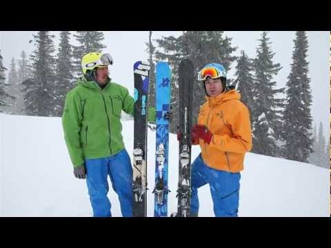 2014 Fat / Powder Ski Test - Catskiing.ca -  Freshair.ca