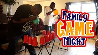 FAMILY GAME NIGHT | NeesieDoesiT Vlogs