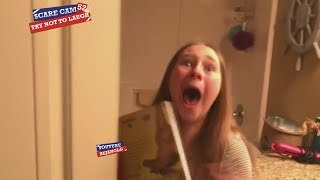 SCARE CAM #52 COMPILATION 2018 - Try Not To Laugh