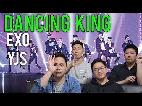 EXO x Jaesuk (유재석) | DANCING KING MV Reaction [4ladsreact]