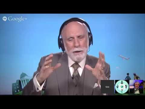 Hangout with Vint Cerf