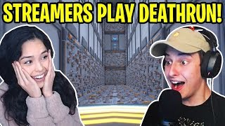 CIZZORZ REACTS - DEATHRUN 3.0 FAILS/FUNNY MOMENTS FROM STREAMERS