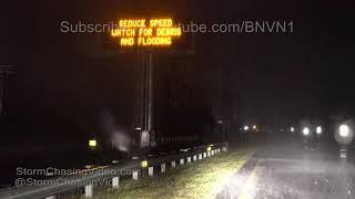 Hurricane Florence Hits Surf City, NC - 9/13/2018