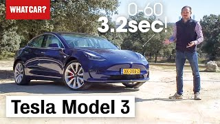 Tesla Model 3 review 2019 – the world's best electric car? | What Car?