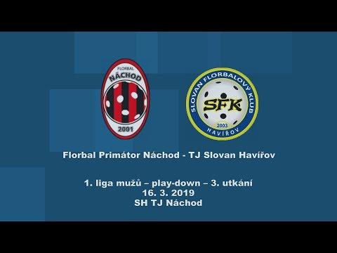 1. liga mužů, play-down, Náchod-Slovan Havířov