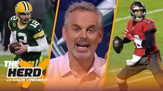 Colin Cowherd ranks the NFL Playoff teams, talks Eagles' HC hire Nick Sirianni  | NFL | THE HERD