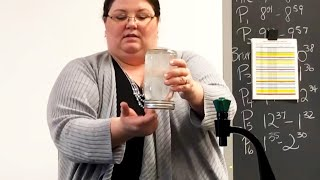 Teacher Shows Gravity Defying Water Trick