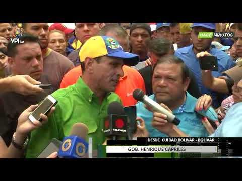 Venezuela. Capriles: