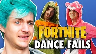 Fortnite Dance Challenge ft. Ninja