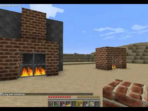 minecraft tutorial kamin bauen youtube. Black Bedroom Furniture Sets. Home Design Ideas