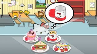 Fun Cooking Hello Kitty Lunchbox - Play Fun Hello Kitty Games - Create Meal & Decorate Lunchbox