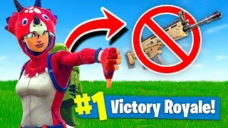 WINNING With *NO* GUNS In Fortnite Battle Royale!