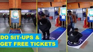Show your fitness and get a free ticket at Indian Railways..