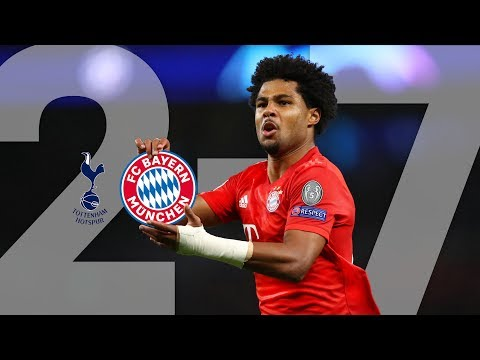 Serge Gnabry cooking 4 times: All FC Bayern Goals of the epic 7-2 vs. Tottenham Hotspur