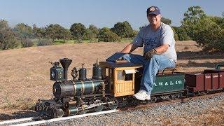 Firing up the Allen Models Fitchburg Northern Live Steam Locomotive