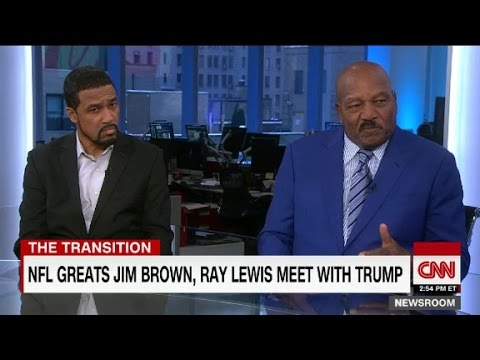 """Jim Brown on Donald Trump: He has """"my admiration"""""""