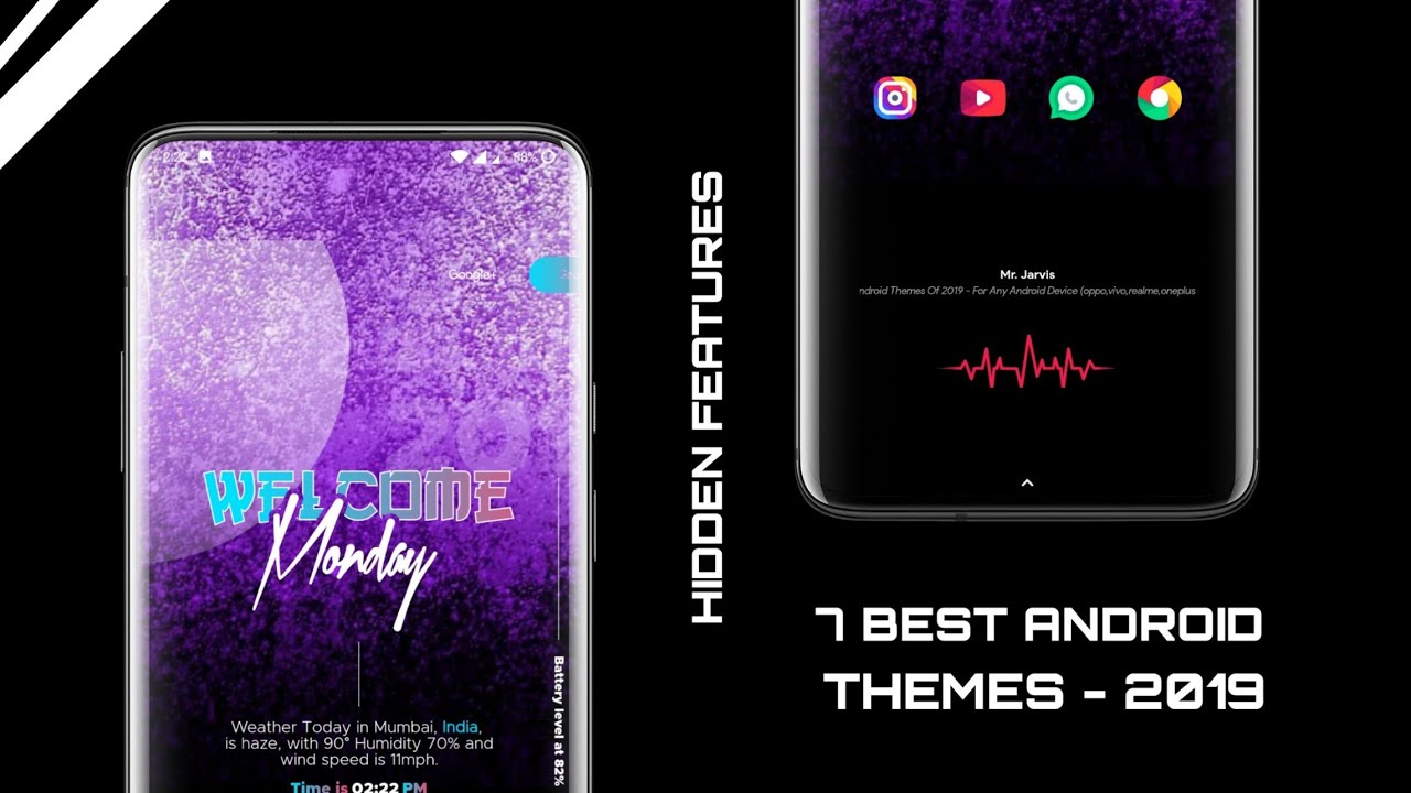 7 Best Android Themes Of 2019 - For Any Android Device  (oppo,vivo,realme,oneplus,Redmi & more)
