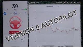Autopilot Version 9 on Model 3