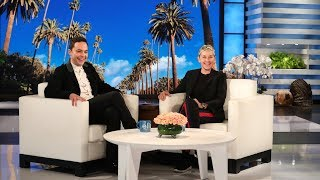 Jim Parsons and Ellen Talk About Their Wedding Anniversaries