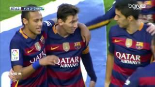 اهداف مباراة برشلونة وغرناطه 4-0 [الاهداف كاملة] الدوري الاسباني 2015/2016 HD     -