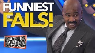 FUNNIEST FAILS EVER On Family Feud USA!  Bonus Round