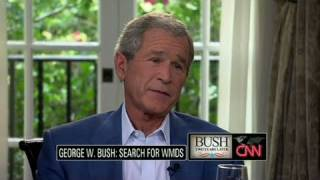 CNN Official Interview: George W. Bush reflects on no WMDs in Iraq