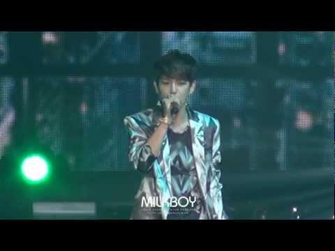 [Fancam] 120331 EXO SHOWCASE - What is Love (baekhyun full ver.)