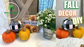 DOLLAR TREE PUMPKIN MAKEOVER | FALL DIY 2018