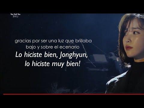 Gayo Daejeon special IU para Jonghyun