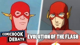 Evolution of the Flash in Cartoons in 33 Minutes (2018)