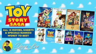 TOY STORY - All 10 Movies, Specials & Shorts Ranked Worst to Best
