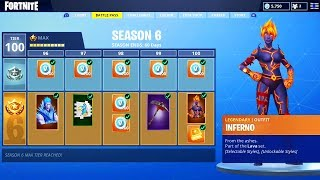 *NEW* Fortnite SEASON 6 BATTLE PASS SKINS! (Fortnite Battle Pass Skins Theme Info)
