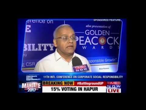 Akshaya Patra's CEO Shridhar Venkat on Times Now