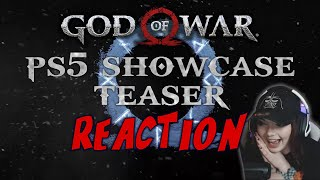 OH MY GOD... LITERALLY! - PS5 Showcase: God of War Ragnarok Reveal - REACTION!
