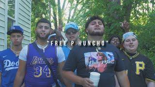 "Ghetto Loser x Cartel Fonse x E Baby x Hansum x Drew Made It -  ""Free P Huncho"" (Official Video)"