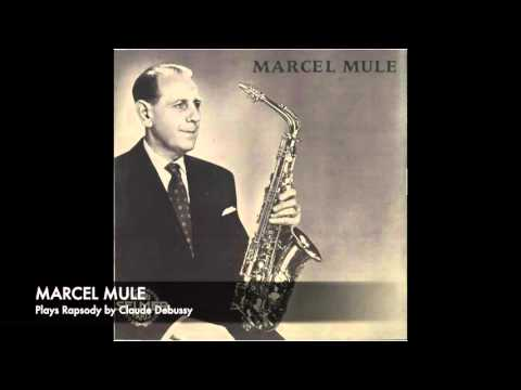 Marcel Mule plays Rapsodie by Claude Debussy