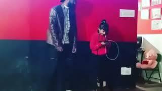 MattyBRaps - Little bit ( feat. Haschak Sisters ) Dance video of Goldy kalotra and Angel